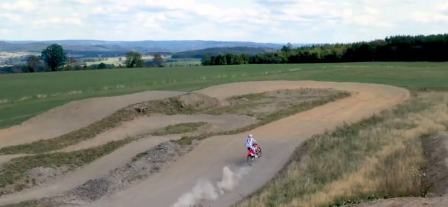 Video: Van Horebeek tests 2020 Honda CRF450R