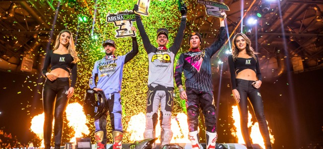 Arenacross UK: Riders and Teams confirmed for 2020