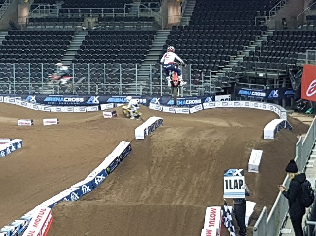 Belfast Arenacross – Friday morning review