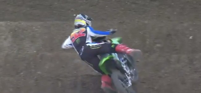Video: Forkner and Lawrence practice crashes