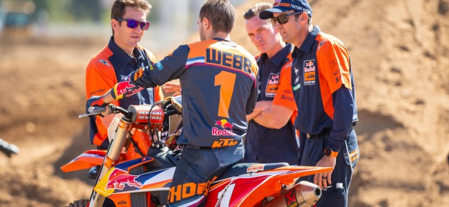 Ian Harrison on why KTM go into the SX season with one 450cc rider