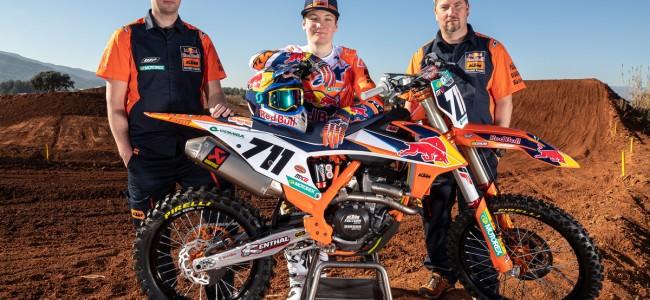 KTM bosses discuss MX2 rookie Rene Hofer