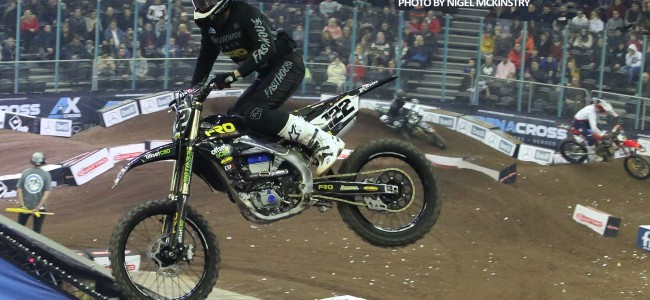 Pro qualifying results: London Arenacross
