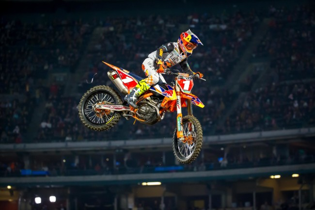 KTM update on Cooper Webb – planning to race Atlanta