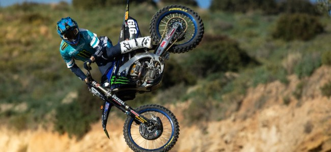 Video: Watson back on the bike at Olmen