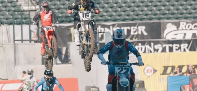 Video: A1 supercross press day practice – raw