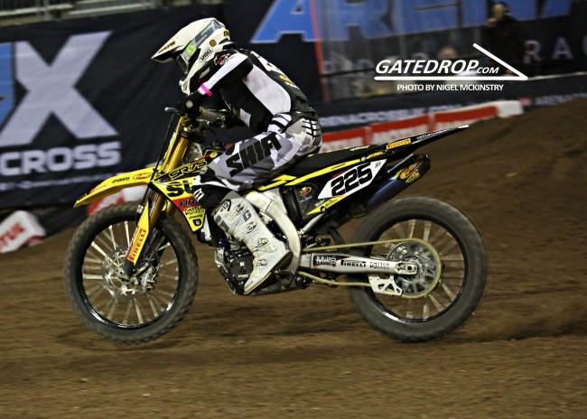 Lefrancois & Dercourt on London Supercross