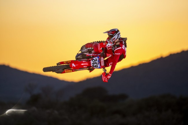 Video: First look – Tim Gajser and Mitch Evans on the new Honda
