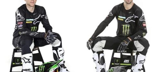 Monster Energy KRT MXGP joins Alpinestars
