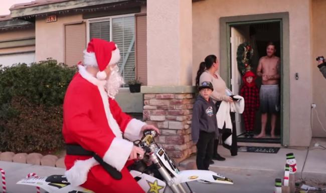 Video: Dean Wilson becomes Santa!