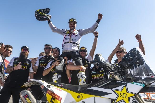 Short and Quintanilla on a successful Dakar rally