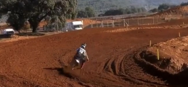 Video: Kay De Wolf flying at Redsand