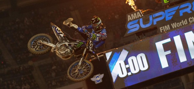 Supercross results: Anaheim one