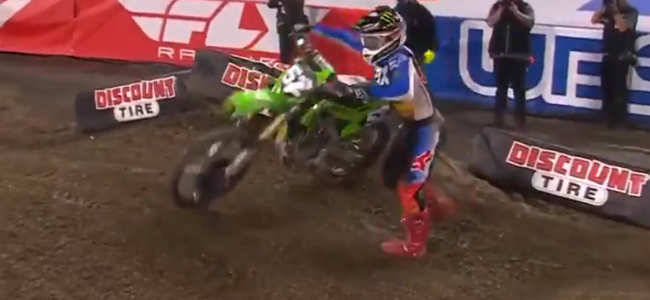 Video: Austin Forkner – Penalty incident at A1