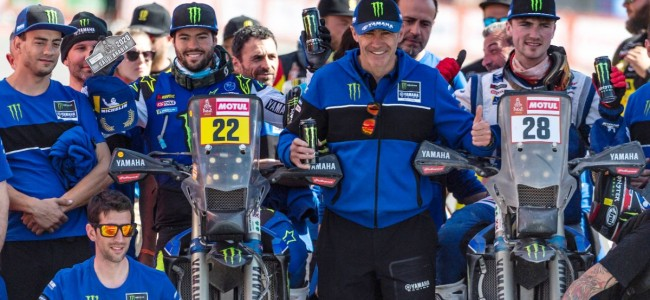 McCanney on a top fifteen result at Rally Dakar