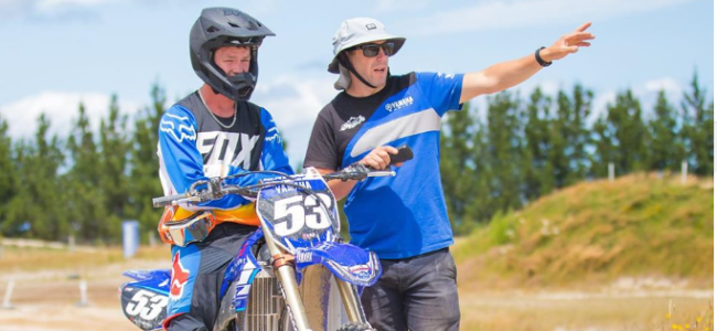 Dylan Walsh signs with Ben Townley Tours supported by Altherm JCR Yamaha