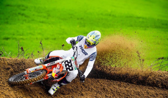 Cairoli in Thor gear for 2020!