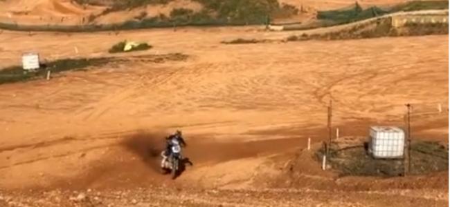 Video: Ruben Fernandez rides Agueda