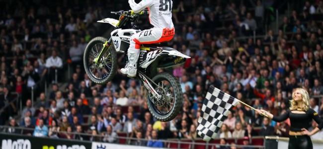 Brian Hsu crashes out of Dortmund SX