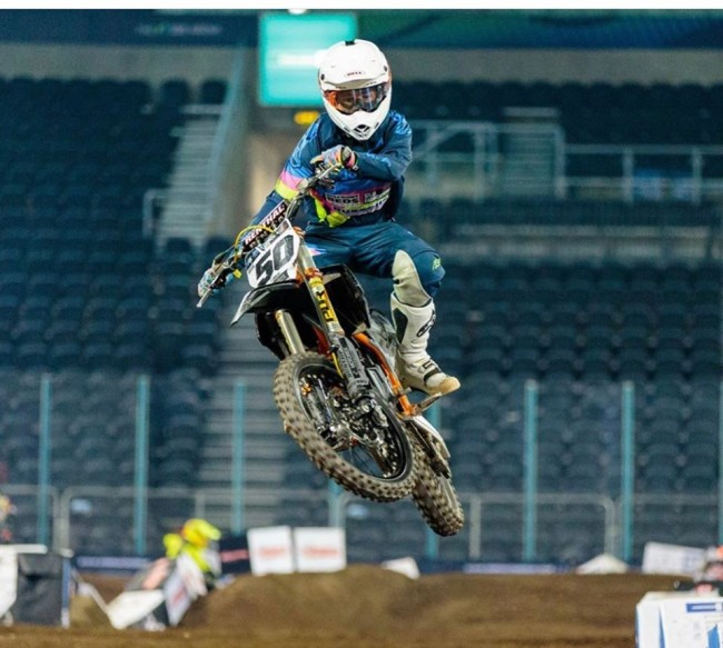 Charley Irwin signs with Fro Systems for rest of AX Tour