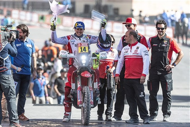 Laia Sanz on her top twenty result at Dakar Rally