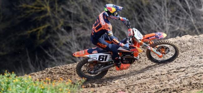 Jorge Prado racing at Matterley Basin