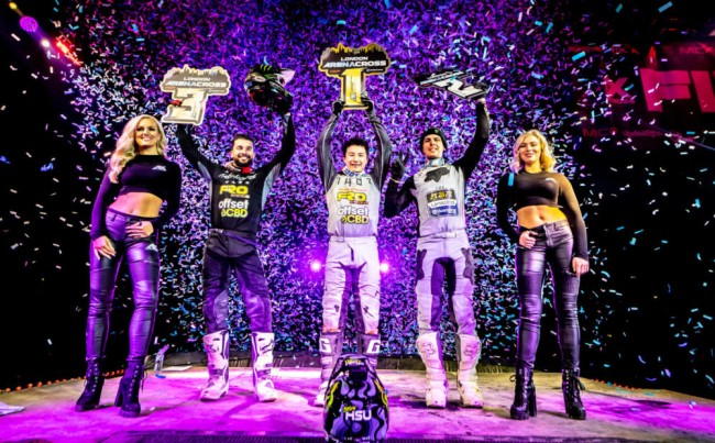 Champions crowned at Arenacross UK Finale in London