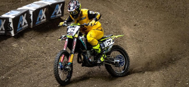 Keogh, Edmonds and Kinsella on London Arenacross