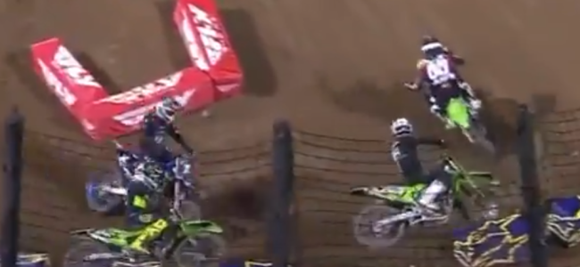 Video: Ferrandis pass on Forkner in Oakland