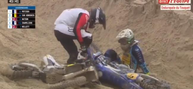 Video: Todd Kellett crash at Le Touquet