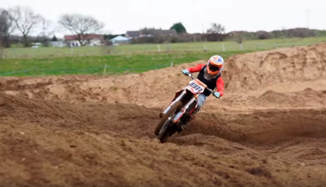Video: Sterry back on a KTM and talks about making the move to MXGP