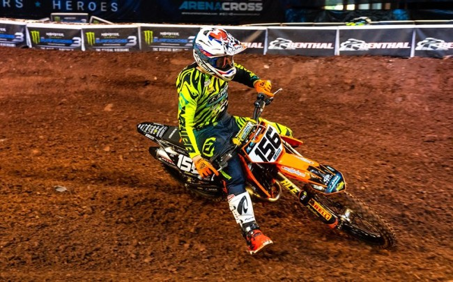 London Arenacross Results: Rookie Cup, Pro AM, Supermini and 65cc