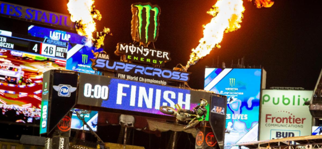 Provisional AMA Supercross Entry list: Salt Lake City