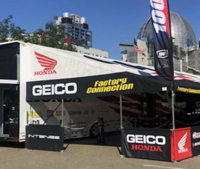 Video: Life on the road with the Geico Honda truck driver