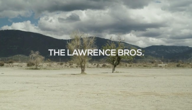 Video: A day at the track with the Lawrence brothers