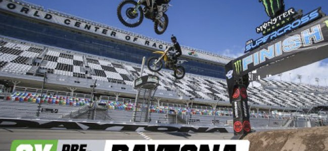 Videos: Press day from Daytona supercross