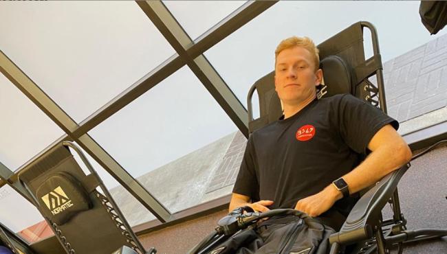 Max Anstie update: Back on the bike in a few weeks