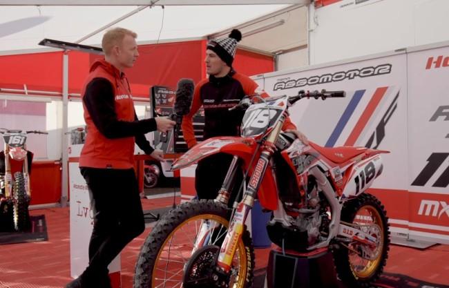 Honda Off Road Manager Gordon Crockard Interviews Stephen Rubini