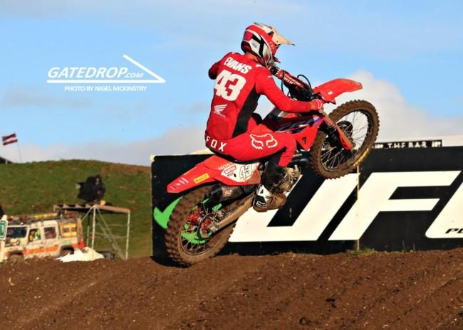 Interview: Mitch Evans on his impressive MXGP debut!