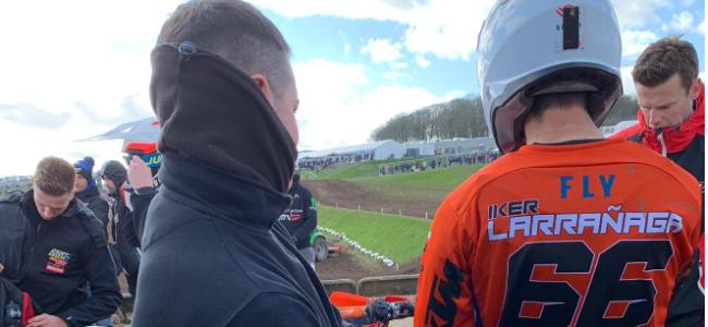 Video: Iker Larranaga crash and injury update