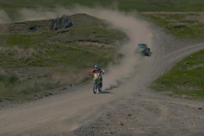 Video: Bike vs Car – featuring Graeme Irwin