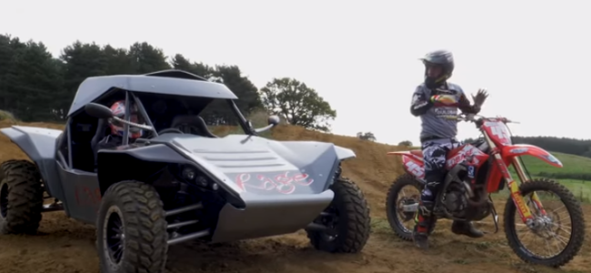 Video: Rage Buggy vs Honda CRF450