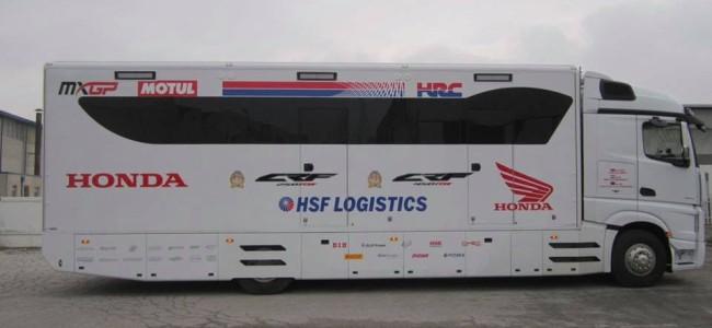 HRC Honda team truck for sale