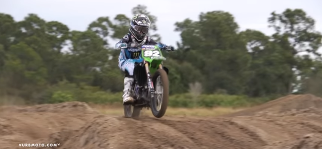 Video: A young Adam Cianciarulo ripping a 2-stroke
