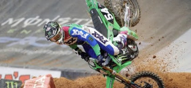 Video: Wildest moments of 2020 supercross