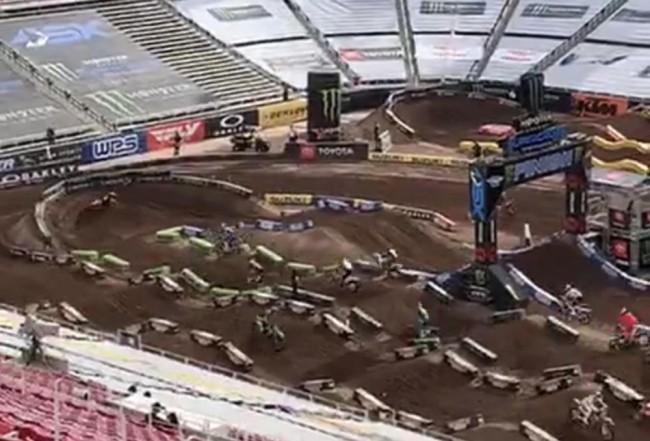 Video: Riders on track at Salt Lake City