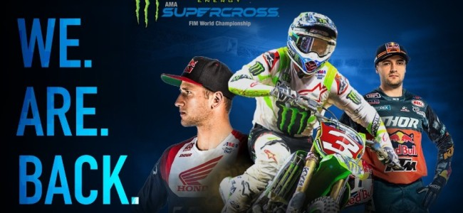 Supercross is back this month!