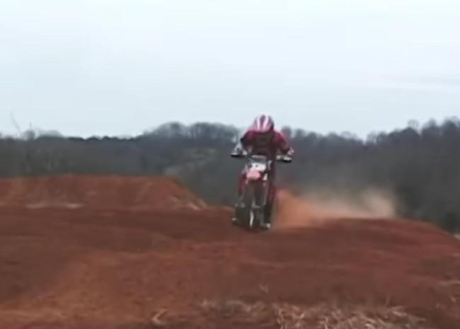 Video: Zach Osborne doing supercross on an 85!