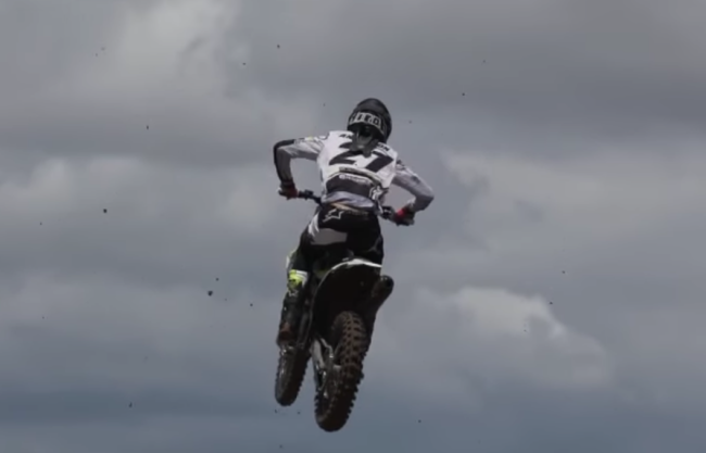 Video: Anderson riding in New Mexico