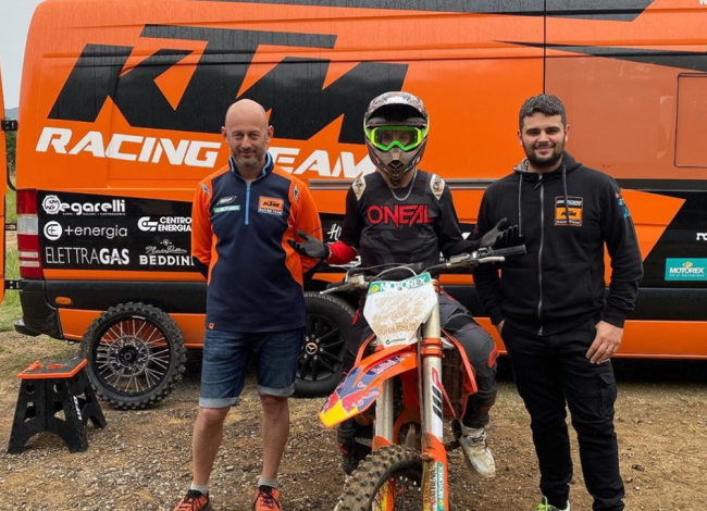 New team for Lapucci – steps up to the 450cc